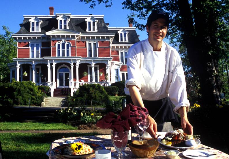 Blomidon Inn Chef